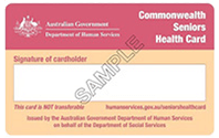 Commonwealth Seniors Health Card