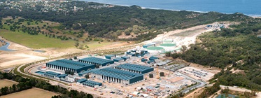 An external photo of our southern seawater desalination plant in Binningup